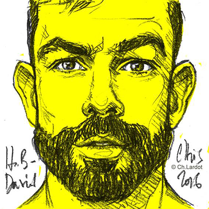 POST-IT PORTAIT: DAVID